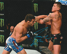 RAFAEL DOS ANJOS SIGNED AUTO'D 8X10 PHOTO UFC 185 154 FIGHT NIGHT CHAMPION MMA A