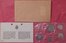 1968 Canada Normal Island Proof Like Set Plus COA & Envelope