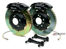 Brembo Rear GT Brake C Caliper Black 345x28 Slot Rotor Benz GLK350 GLK250 X204