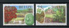 Belize 2017 MNH Tourism Definitines R/P 2v Set Landscapes Trees Stamps