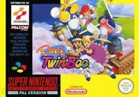 Nintendo SNES Spiel - Pop'n TwinBee mit OVP sehr guter Zustand