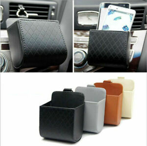 Car Air Vent Outlet Phone Pocket Storage Box Organizer Debris Bag Holder Pouch