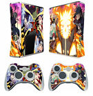 Naruto 274 Vinyl Decal Skin Sticker for Xbox360 slim and 2 controller skins