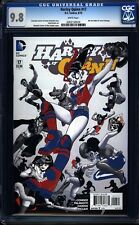 Harley Quinn 17 CGC 9.8 WP Modern Age DC Comic (2014) IGKC L@@K