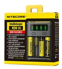 Nitecore NEW I4 Intellicharge 18650 26650 20700 16340 UK Battery Charger