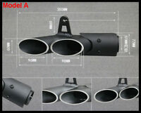 Handsome style Exhaust Pipe Dual-outlet Tail Pipe For Motorcycle Exhaust System