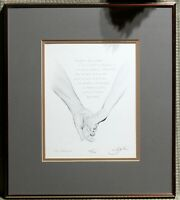 Robert Sexton 'The Promise' Lithograph Numbered 532/600 Signed Framed & Matted