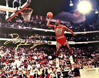 Michael Jordan HOF Bulls Autographed Signed 8X10 Photo REPRINT ,
