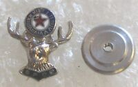 Vintage Benevolent & Protective Order of Elks Member Lapel Pin - BPOE Screw Back
