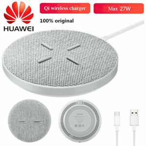 For HUAWEI CP61 SuperCharge Wireless Fast Charger 27W for Mate 20 RS P30 Pro