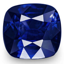 GRS Certified SRI LANKA Blue Sapphire 6.63 Cts Natural Untreated Deep Royal Blue