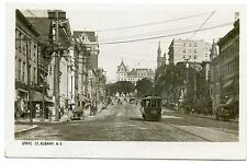 RPPC NY Albany Trolley on State Street