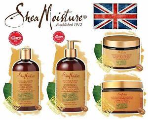 Shea Moisture Manuka Honey & Mafura Oil Shampoo /Conditoner /Masque/ Scrub