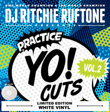 "DJ RICHIE RUFTONE PRACTICE YO CUTS VOLUME 2 COLOURED 12"" VINYL - WHITE"