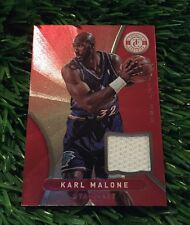 2012-13 PANINI TOTALLY CERTIFIED KARL MALONE TOTALLY RED JERSEY CARD