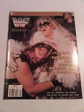 WWF WWE Wrestling Magazine OCTOBER 1996 Mankind Goldust Sid Justice Cover