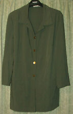 Green blouse Size 14 /16,  50 % viscose Check the exact size