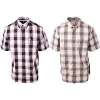 Carhartt Men's S02 Plaid S/S Woven Shirt (Retail $40)