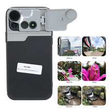 Lens Mobile Phone Case Cover Shell for iPhone 12 w/Macro/Fisheye/Cpl Filter Lens