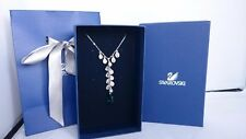 Genuine Swarovski Noumea emerald necklace 1076339 wedding birthday prom RRP£119