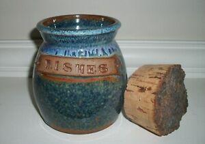 Rustic Wish Jar with Cork Lid