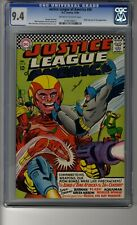 Justice League of America (1960) # 50 - CGC 9.4 OW/White Pages - Lord of Time