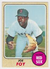1968 TOPPS JOE FOY CARD #387 MINT CONDITION & WELL CENTERED
