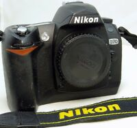 Nikon D70 6MP Digital SLR Camera Body Only with intermittent CHA error - - WORKS