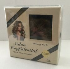 Salon Confidential Bouncy Curl Clip-in Hair Extensions - Red Blonde
