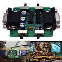 Retro Games Arcade Machine Screen Scanline Video Generator Board VGA Connection