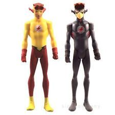 2Pcs DC Universe Young Justice League KID FLASH 4 Inches Action Figures FK373