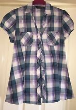 Dorothy Perkins Checked Blouse, Size 12 - Lovely!
