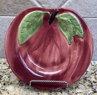 Vintage Franciscan Apple Shaped Salad/Desert Plates NEW w/Tags Set Of 4
