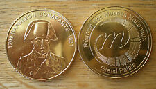 Napoleon Bonaparte Gold Plated by National Museum Invalides Paris France Medal