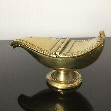 Ancienne Navette pour Encens d'Eglise en Bronze Doré Epoque Fin XVIIIè