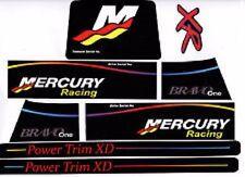 MERCRUISERTHE NEW 2017 BRAVO ONE RACING XR  W/ RAMS STICKER SET