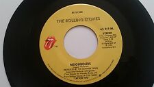 """ROLLING STONES """"VICINI/Hang Fire"""" USA 7"""" in vinile"""