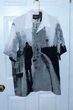New listing Vtg 2003 James Dean Button Up Dress Shirt - Authorized - Short Sleeve Sz L