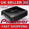 Pioneer GM-D8701 Mono 1600W Class-D Car Amp with Bass Boost Remote Controller