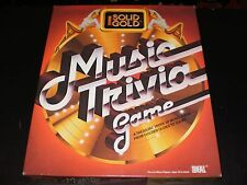 SOLID GOLD MUSIC TRIVIA GAME 1984
