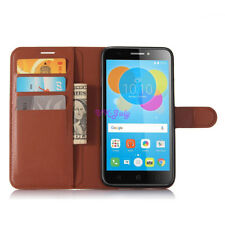 For Vodafone Smart V8 VFD710 PU Leather slot wallet stand flip Cover Skin Case