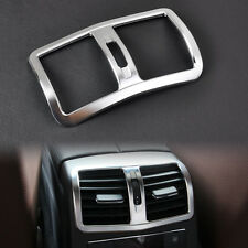 Matt Chrome Armrest Box Rear Air Vent Cover Trim for Benz W212 E Class 2013-2015