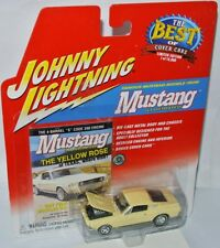 Mustang Illustrated - 1967 Ford Mustang GTA-amarillo - 1:64 Johnny Lightning