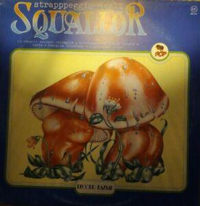 VINILE LP SQUALLOR - STRAPPPEGGIO DEGLI SQUALLOR 33 GIRI ANNO 1980 ITALY RB 247