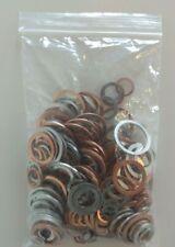 +Sonderposten+ Kupfer-/Alu-Dichtring-Sortiment DIN 7603 Inhalt 316 St.