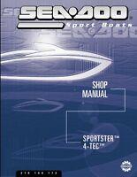 Sea-Doo 2003 Sportster, 4-TEC Shop Repair Manual 219100172 FREE SHIPPING