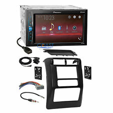 Pioneer 2018 Multimedia Stereo 2Din Dash Kit Harness for 2003-06 Jeep Wrangler