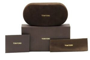 Tom Ford Brand New Sunglasses, Eyeglasses Optical Hard Brown Small Suede Case