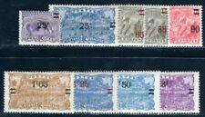 GUYANE 1924 Yvert 97-105 * TADELLOS AUFDRUCKE (09189