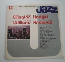 """I GIGANTI DEL JAZZ 12 """"Ellington, Hodges, C. Williams, Anderson"""" Vinyle 33t / LP"""